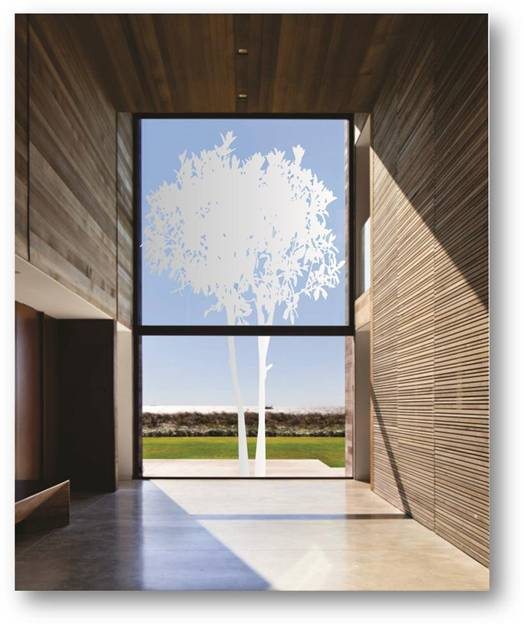 De Waal Art Frosted Vinyl